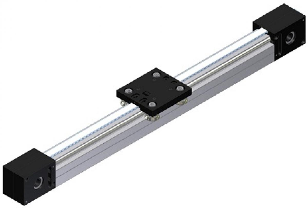 Linear unit LT2 with toothed-belt drive