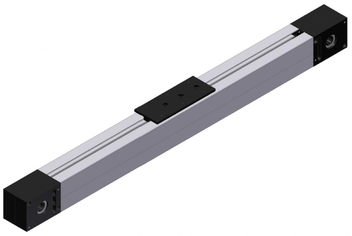 Linear units LT60 with toothed-belt drive